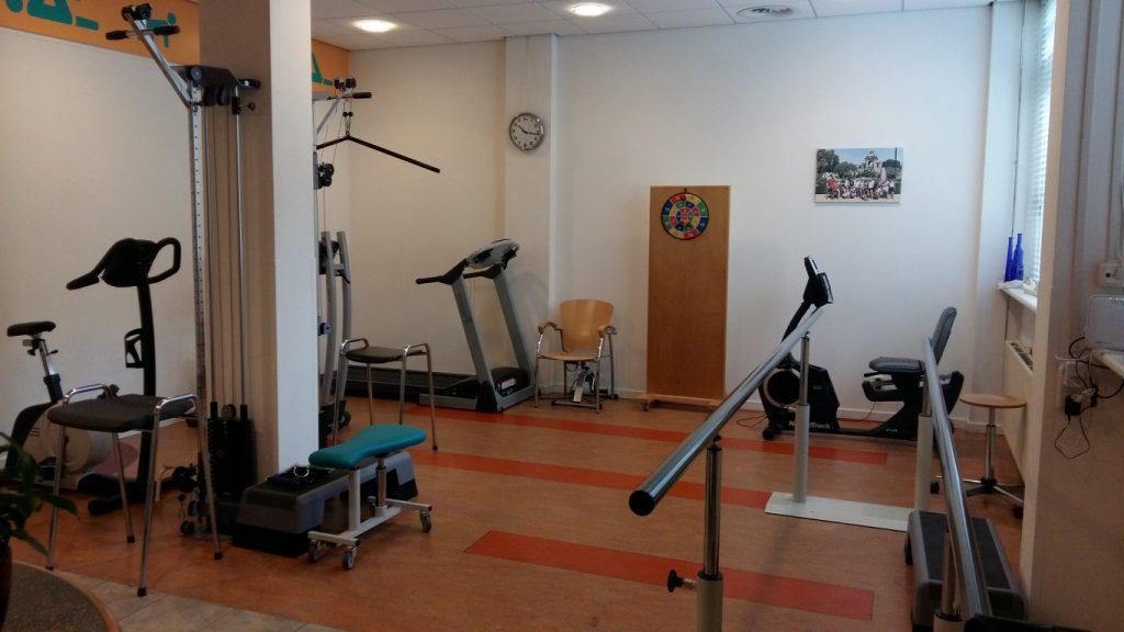 Oefenruimte Fysiotherapie Voorburg